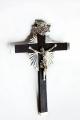 Cruz de ébano y Plata